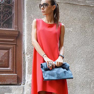 Одежда ручной работы. Ярмарка Мастеров - ручная работа Платье  Classiс Coral. Handmade.