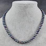 Работы для детей, handmade. Livemaster - original item Cropped Beads Natural Black pearls. Handmade.