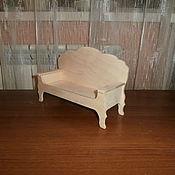 Материалы для творчества handmade. Livemaster - original item Billet: Doll couch 1119. Handmade.
