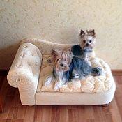 Для домашних животных, handmade. Livemaster - original item Sofa for dogs, cats Favorite. To order in the desired color.. Handmade.