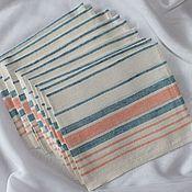 Для дома и интерьера handmade. Livemaster - original item towel linen. Handmade.