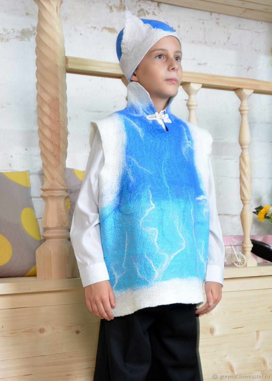 Kids costumes handmade. To buy a suit, Ivan. Felted costume for a boy. Christmas costume for a boy. Fair Masters. Handma