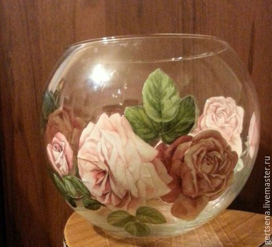 Вазы ручной работы. Ярмарка Мастеров - ручная работа. Купить шаровая ваза. Handmade. Зеленый, декор для интерьера, акриловый лак
