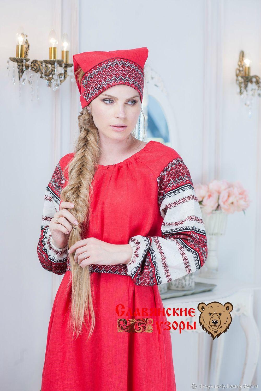 Slavic Forty red, Folk decorations, St. Petersburg,  Фото №1