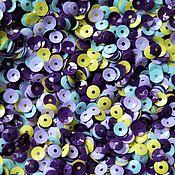 Пайетки ручной работы. Ярмарка Мастеров - ручная работа Микс пайеток 4 мм, Италия. Handmade.