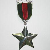 """Украшения ручной работы. Ярмарка Мастеров - ручная работа Брошь """"Estrella"""" серебро 925. Handmade."""