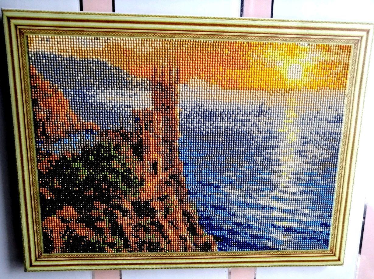алмазная мозаика готовые работы фото верхней