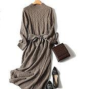Одежда handmade. Livemaster - original item Cashmere patterned dress. Handmade.
