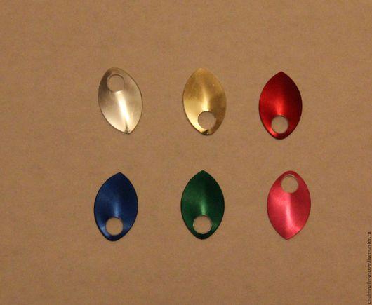 Другие виды рукоделия ручной работы. Ярмарка Мастеров - ручная работа. Купить Чешуйки алюминий анодированные (маленькие) 10 шт. Handmade.