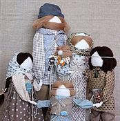 """Куклы и игрушки ручной работы. Ярмарка Мастеров - ручная работа """"Семейный хоровод"""" авторские куклы образы.. Handmade."""