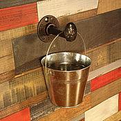 Для дома и интерьера ручной работы. Ярмарка Мастеров - ручная работа Вешалка-крючок для одежды в стиле Лофт (Loft), Индастриал, Рустик. Handmade.