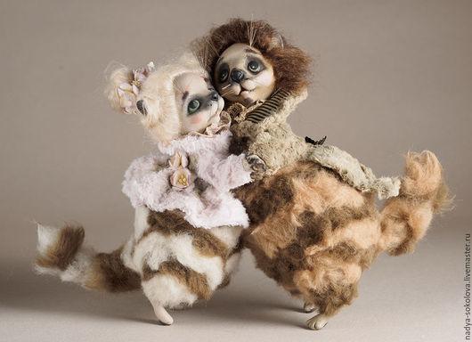 Коллекционные куклы ручной работы. Ярмарка Мастеров - ручная работа. Купить Кошачий вальс. Handmade. Кот, вальс