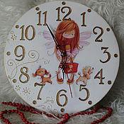 Для дома и интерьера handmade. Livemaster - original item Watch Fairy girl dress up (2 versions). Handmade.