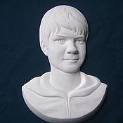 Для дома и интерьера ручной работы. Ярмарка Мастеров - ручная работа скульптурный портрет. Handmade.