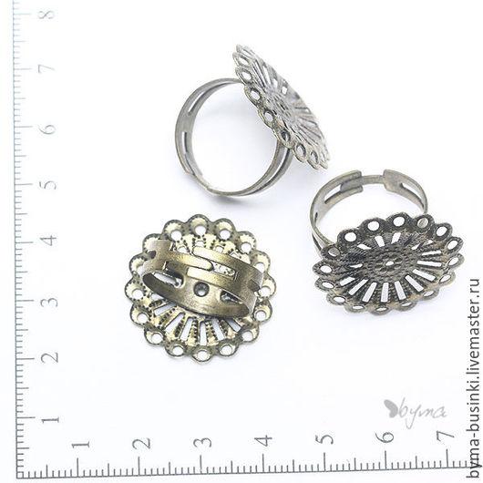 фурнитура для украшений. основа для кольца