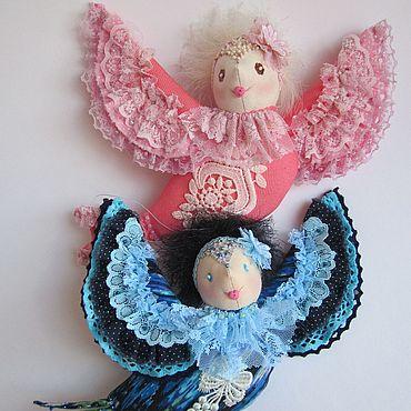 Куклы и игрушки ручной работы. Ярмарка Мастеров - ручная работа Синяя Птица. Птица Счастья. Handmade.