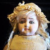 """антикварная кукла""""Козетта"""""""