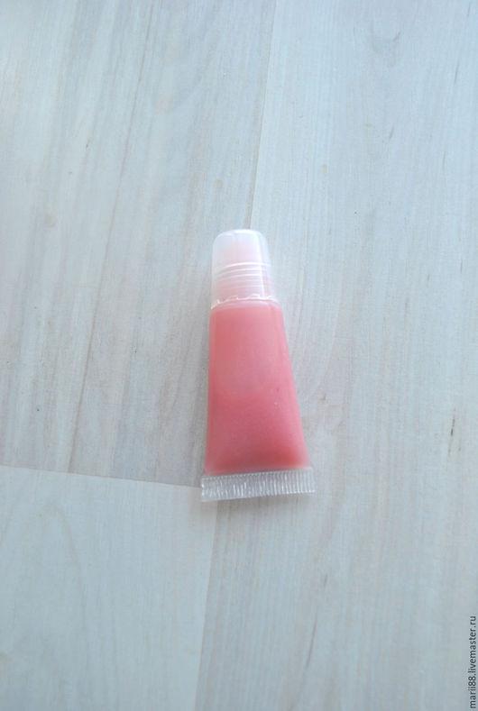 """Бальзам для губ ручной работы. Ярмарка Мастеров - ручная работа. Купить Жидкий блеск для губ """"розовый кармин"""". Handmade."""