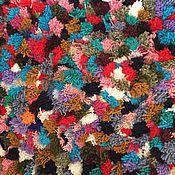 Для дома и интерьера ручной работы. Ярмарка Мастеров - ручная работа Коврик из помпонов. Handmade.