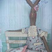 """Куклы и игрушки ручной работы. Ярмарка Мастеров - ручная работа заяц Майлег  """"Доброй ночи..."""". Handmade."""