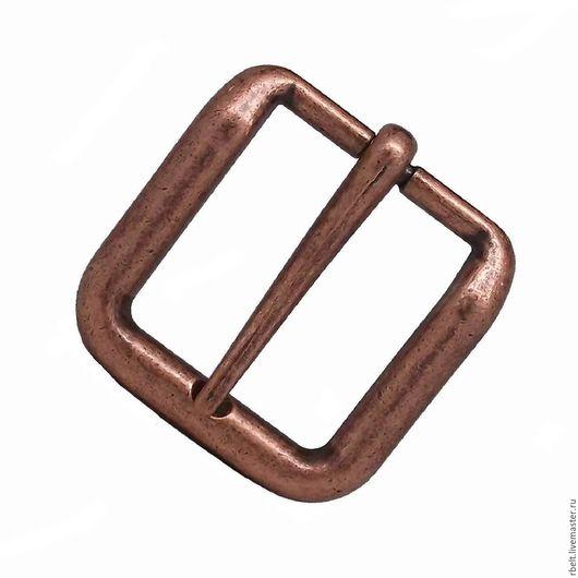 Другие виды рукоделия ручной работы. Ярмарка Мастеров - ручная работа. Купить код товара1/6     Пряжка античная медь для ремня шириной 38 мм. Handmade.