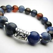 Украшения handmade. Livemaster - original item Bracelet sodalite and carnelian
