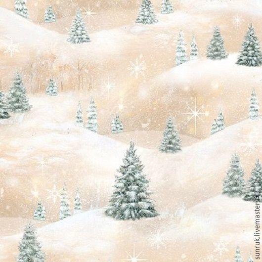 """Ткань для лоскутного шитья из коллекции """"Лесные друзья"""", США, Другие виды рукоделия, Москва, Фото №1"""