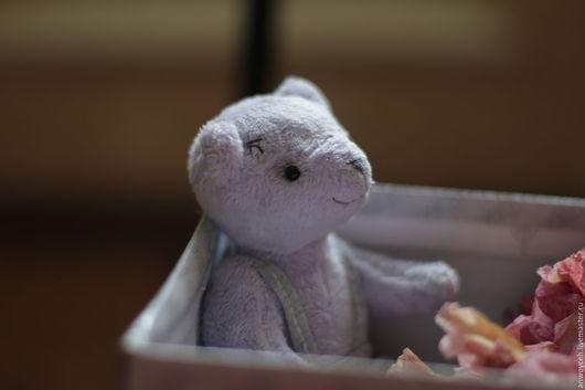 Мишки Тедди ручной работы. Ярмарка Мастеров - ручная работа. Купить Тедди Мишка Сэнди. Handmade. Тедди мишка, лаванда
