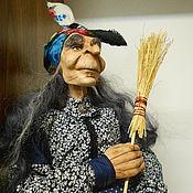 Куклы и игрушки ручной работы. Ярмарка Мастеров - ручная работа Баба-Яга, Авторская коллекционная кукла. Handmade.