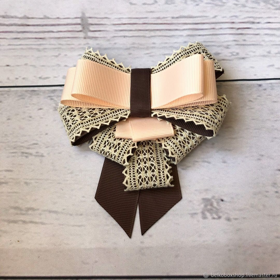 Brooch ribbon 'Jacqueline', Brooches, Moscow,  Фото №1