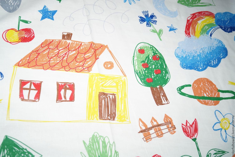 Ткани для постельного белья с детским рисунком
