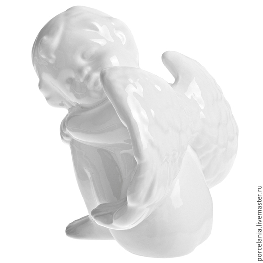 Статуэтки ручной работы. Ярмарка Мастеров - ручная работа. Купить Ангел. Handmade. Белый, ангел ботичелли
