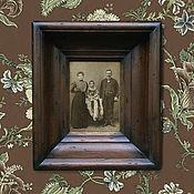 Сувениры и подарки ручной работы. Ярмарка Мастеров - ручная работа Рамка для фото или вышивки Фоторамки из дерева. Handmade.