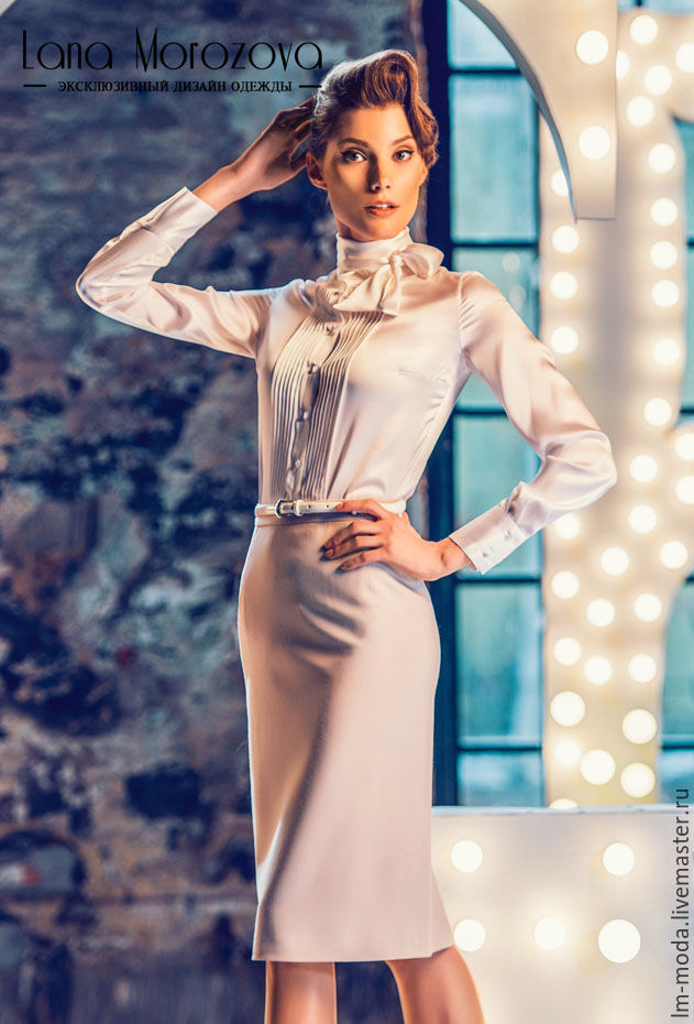 Купить Стильную Белую Блузку Женскую