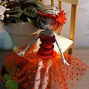 Куклы и игрушки ручной работы. Ярмарка Мастеров - ручная работа Вечерние красные платья Monster High (МонстрХай). Handmade.