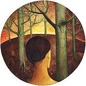 Картины и панно ручной работы. Ярмарка Мастеров - ручная работа В лесу. Handmade.