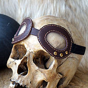 Субкультуры handmade. Livemaster - original item decorative steampunk sunglasses. Handmade.