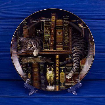 """Винтаж ручной работы. Ярмарка Мастеров - ручная работа Тарелка № 1663 E """"Frederick The Literate"""". Handmade."""