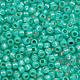 Японский бисер TOHO, размер 11/0. \r\nTR-11-2104\r\nSilver-Lined Milky Teal\r\nВнутреннее серебрение молочный сине-зеленый.\r\nЦена указана за 10 грамм.