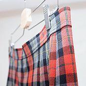 Одежда handmade. Livemaster - original item Plaid skirt Scotland, wool. Handmade.