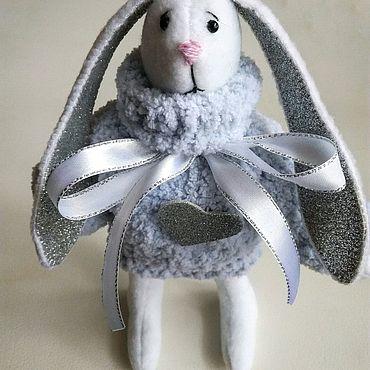 Куклы и игрушки ручной работы. Ярмарка Мастеров - ручная работа Кролик-меланхолик. Вместе грустить веселее. Handmade.