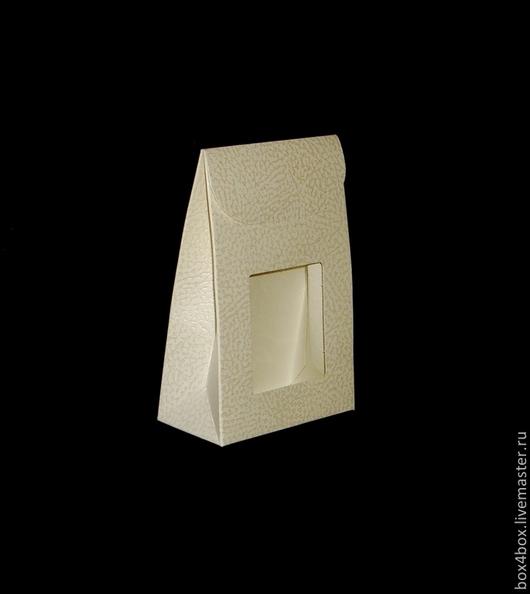 Упаковка ручной работы. Ярмарка Мастеров - ручная работа. Купить Пакетик с окном. Handmade. Белый, упаковка, упаковка для подарка