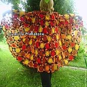 "Одежда ручной работы. Ярмарка Мастеров - ручная работа Пальто ""Осенняя палитра"". Handmade."