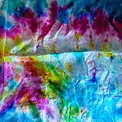 Материалы для творчества ручной работы. Ярмарка Мастеров - ручная работа Остаток 1,6 м! Шелковый шифон, шелк натуральный 100%. Handmade.