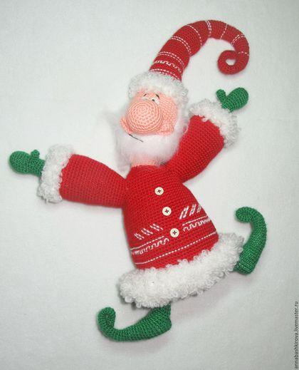 Игрушки Башкировой Анны, Дед Мороз, Новый год, оригинальный подарок на Новый Год