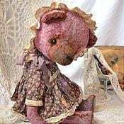 Куклы и игрушки ручной работы. Ярмарка Мастеров - ручная работа Веруся мишка тедди. Handmade.