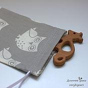 Packaging handmade. Livemaster - original item Gift bag with owls small. Handmade.