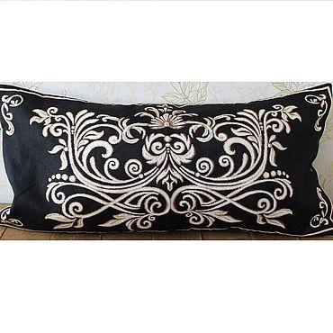 Текстиль ручной работы. Ярмарка Мастеров - ручная работа ГЕРБ 6: гобеленовый чехол на подушку, 35-70 см. Handmade.