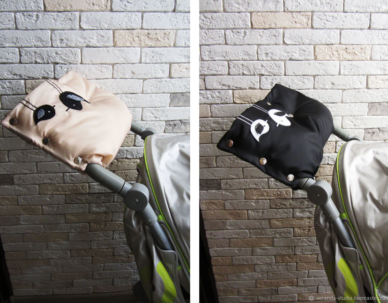 Как сшить муфту для рук на коляску или санки Ярмарка Мастеров 42