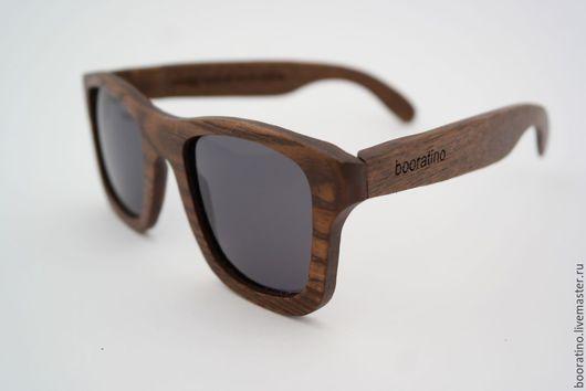 Очки ручной работы. Ярмарка Мастеров - ручная работа. Купить Деревянные очки Wayfarer. Handmade. Коричневый, деревянный, шарниры